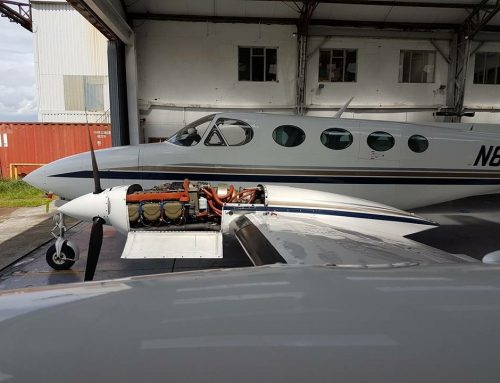 Service and Oil Change Cessna 310