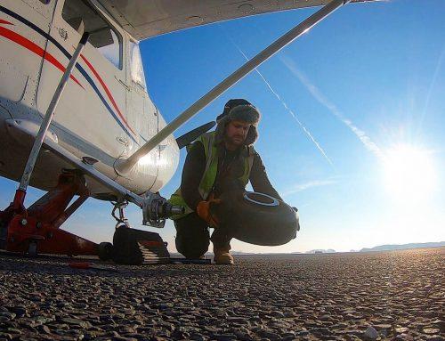 Cessna cracked axle